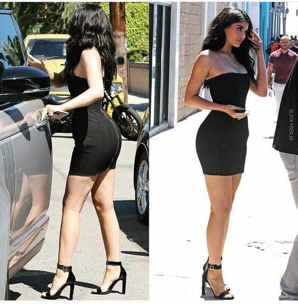 Kylie-jenner Dress Black Dress Black Dress Summer Dress Little Black Dress Sey Dress Short Dress Party Dress Party Shoes Party Outfits Outfit Outfit Idea Summer Outfits Cute Outfits Spring Outfits Date Ou cover image