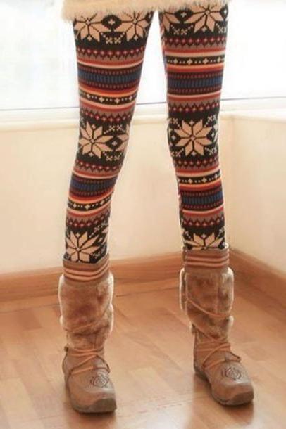 Leggings Pants Multi Pants Leggings Christmas Leggings cover image