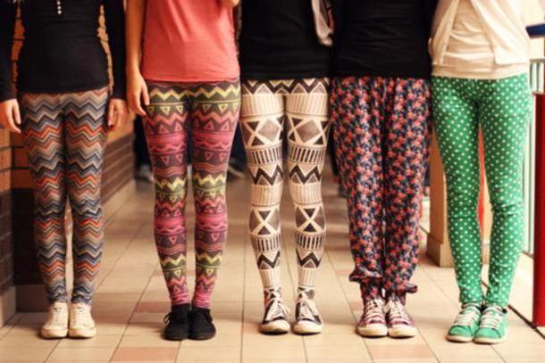 Leggings Pants Multi Pants Leggings Aztec Polka Dots cover image