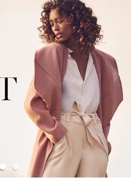Pants Beige Pants Coat cover image