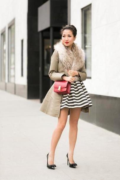 Dress Beige Wendy S Lookbook Dress Jacket Shoes Bag cover image