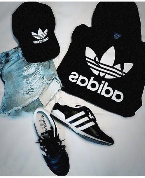 Stripes Shoes Black Shoes Adidas Stripes Black White Sneakers Sporty Girly Outfit cover image