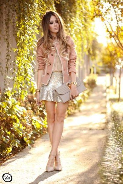 Top Brown Fashion Coolture Coat  Skirt Bag Jewels Shoes cover image