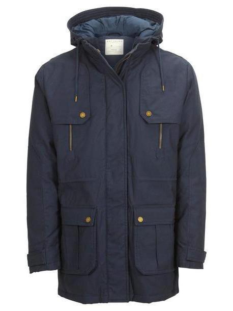 Coat Black Coat Selected Navy cover image