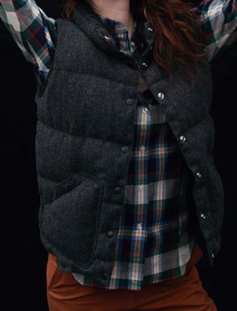Coat Black Coat Herringbone Vest Puffer Vest Vest Outerwear Jacket cover image