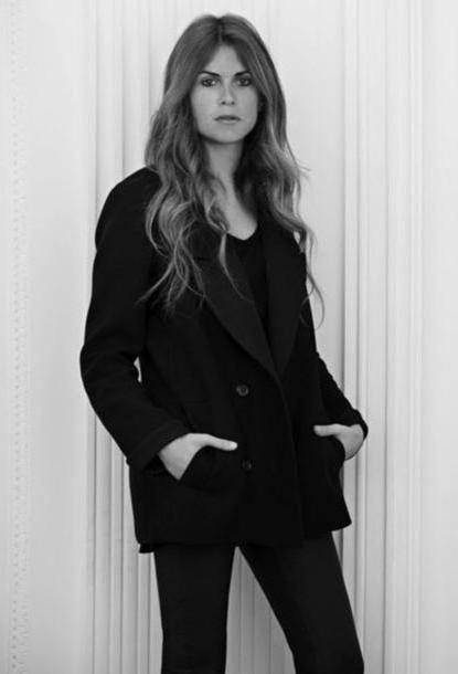 Coat Black Coat Natalie Ratabesi Jacket cover image