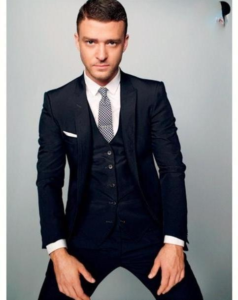 Coat Black Coat   Piece Suit Suit Justin Timberlake Jacket cover image