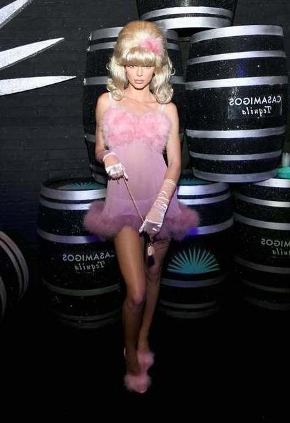 Lingerie Dress Pink Dress Pink Pink Dress Kendall Jenner Lingerie Set Lingerie Model Duty Halloween Costume Halloween cover image