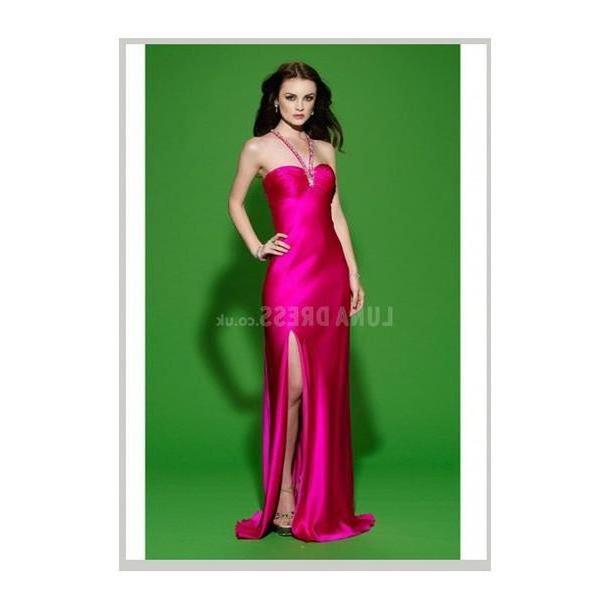 Lingerie Dress Pink Dress Floor Length Dress Bridal Lingerie Satin Halter cover image