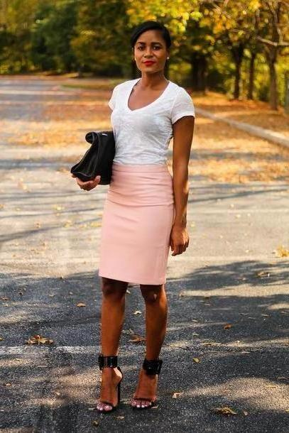 Skirt Beige Daileigh T Shirt Skirt Bag Shoes cover image