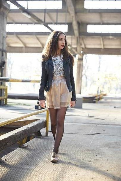 Skirt Beige Olympia T Shirt Shirt Skirt Jacket Shoes cover image