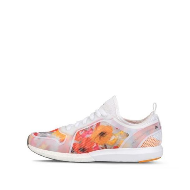 Orange Shoes Multi Shoes Sneakers Adidas Adidas Shoes Floral Floral Shoes Flowers Orange Stella Mccartney cover image