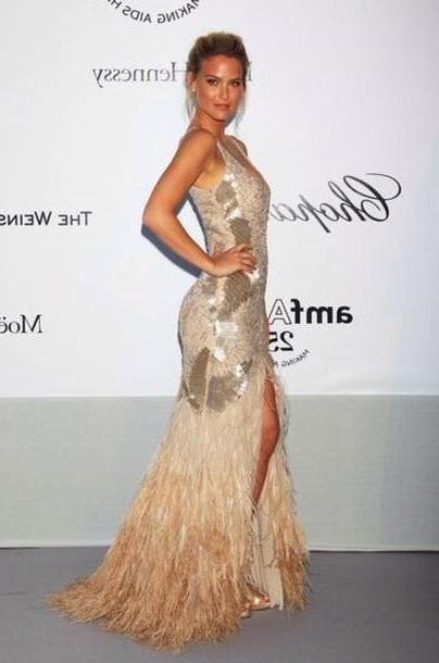 Dress Beige Dress Bar Refaeli cover image