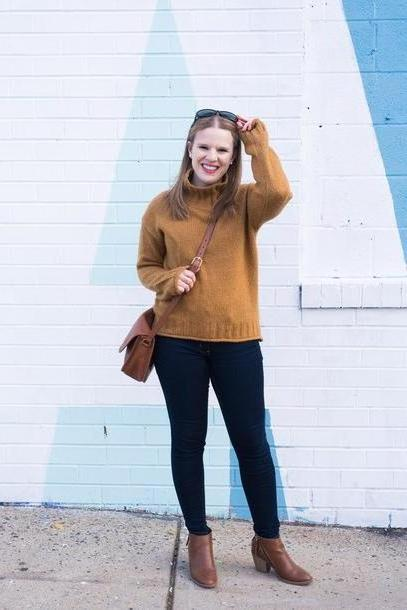 Orange Shoes Orange Somethinggood Blogger Sweater Jeans Shoes Bag Celebrity Crossbody Bag Orange Sweater cover image