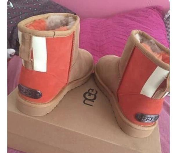 Orange Shoes Orange Shoes Ugg Boots Orange Blue cover image