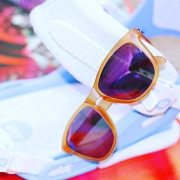 Orange Sunglasses Beige Sunglasses Sili Sunglasses Sportswear Summer Accessories Summer Sports Apparel Orange Purple cover image