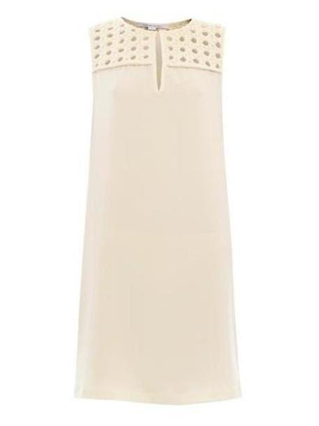 Dress Beige Dress Hope Dress Peal Cream Cream Diane Von Furstenberg cover image