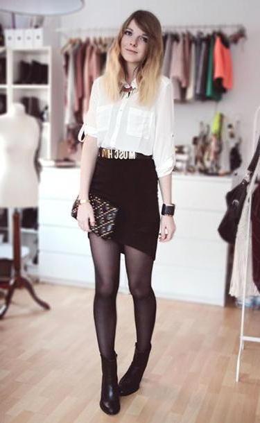 b5f2197deae Skirt Multi Bekleidet Shirt Skirt Jewels Belt Bag Shoes cover image