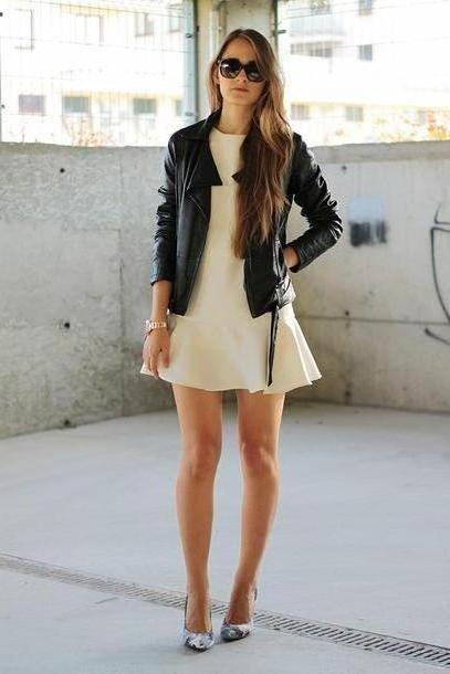 Dress Beige Carmel Dress Jacket Shoes Jewels Sunglasses cover image