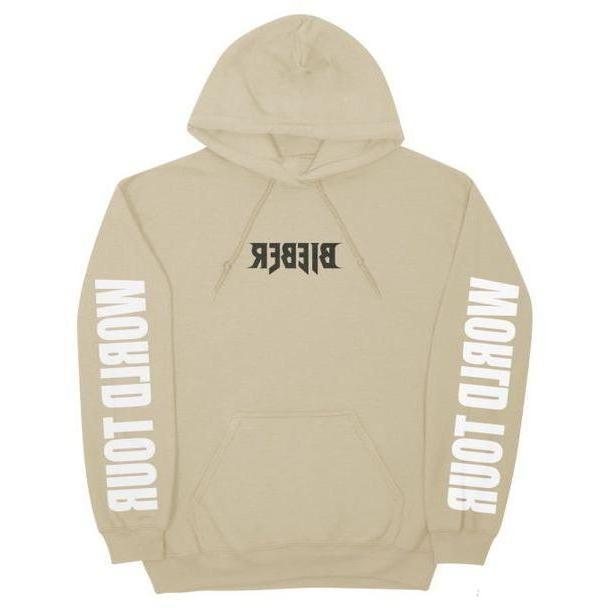 Hoodie Sweater Beige Sweater Justin Bieber Purpose Hoodie Purpose Tour cover image
