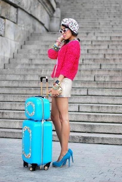Skirt Beige Macademian Girl Jacket T Shirt Skirt Shoes Jewels Bag Sunglasses cover image