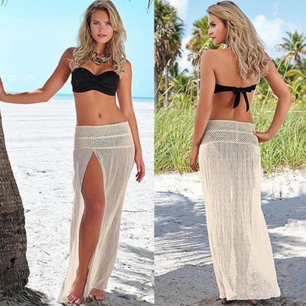 Swimwear Beige Swimwear Bikini Sey Bikini Pretty Beach Clothes Classy Elegant Trendy Women Girl New Cute Summer Sey cover image