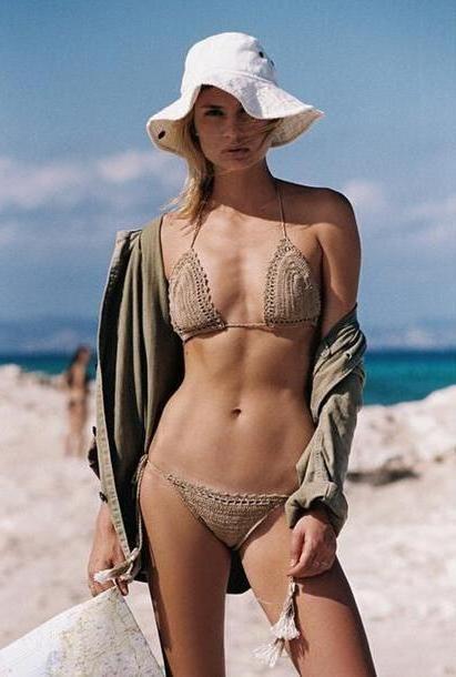 Swimwear Beige Beige Apparel Accessories Clothing Swimwear Bikini cover image