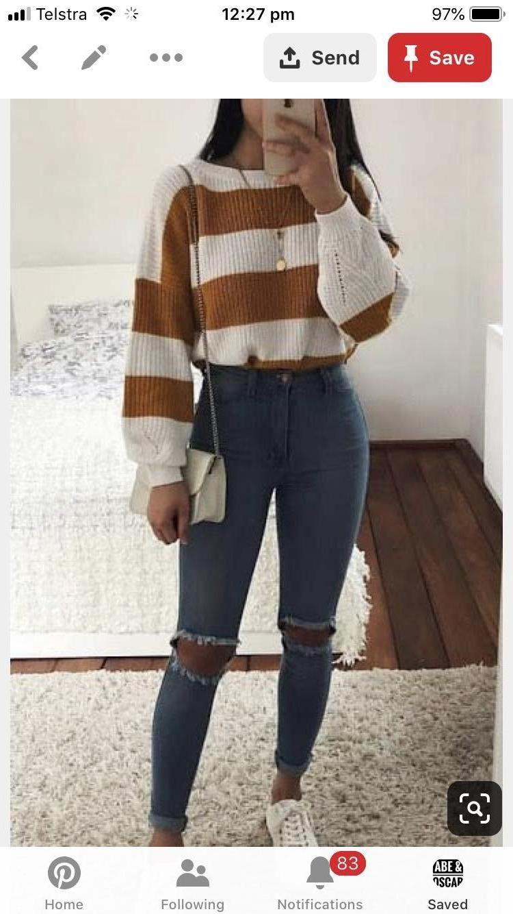 Sweater Stripes Sweater Looking Striped Sweater R cover image