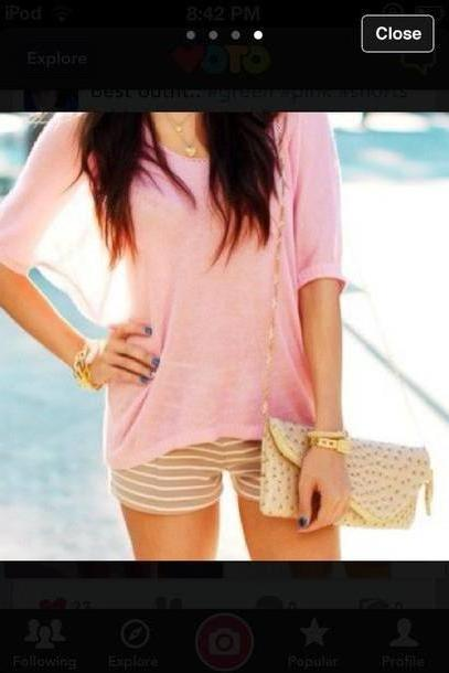 Shorts Beige Shorts Outfit Clothes Fashion cover image