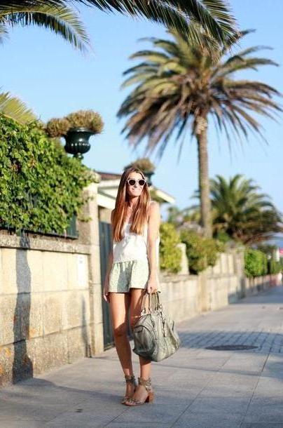 Shorts Beige B R T B C Shorts T Shirt Bag Shoes Jewels Sunglasses cover image