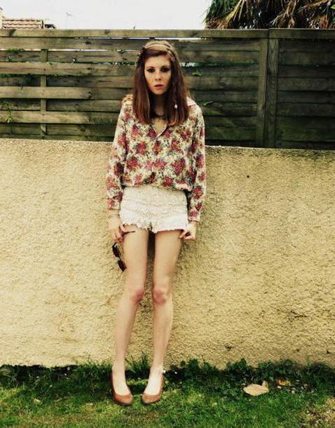Shorts Beige Freckles Fashion Shirt Shorts cover image