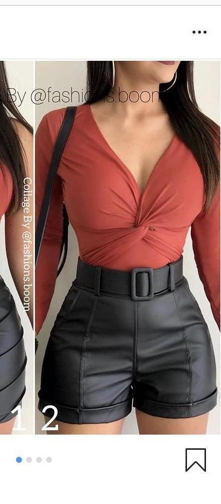 Shorts Beige Shorts Beltedshorts cover image