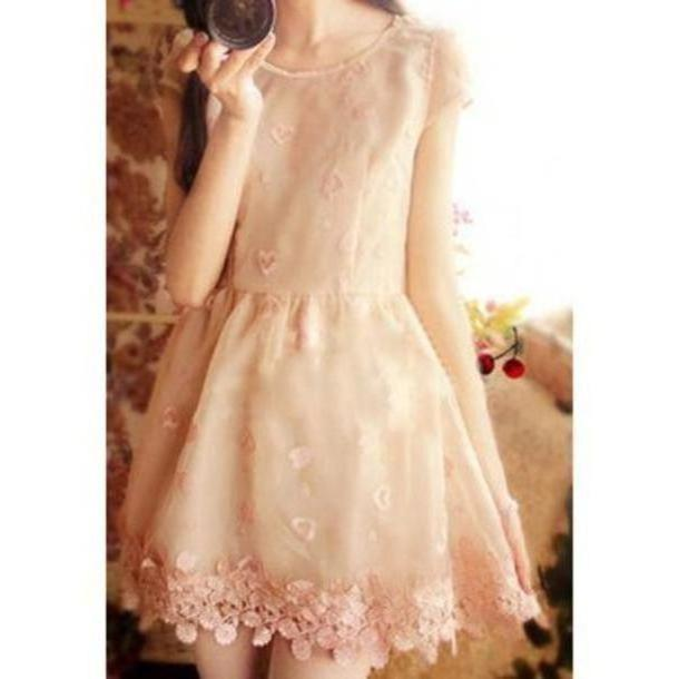 Skirt Beige Skirt Fashion Clothes cover image