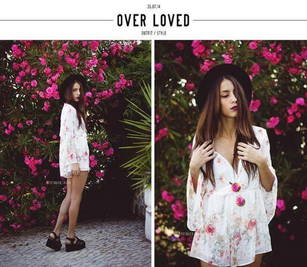 Romper White Meiquer Romper Sunglasses Kimono Hat Blogger Floral Summer Outfits Playsuit Flatforms Flatform Sandals Sandals Summer Shoes Round Sunglasses Boho Boho Chic Beach cover image
