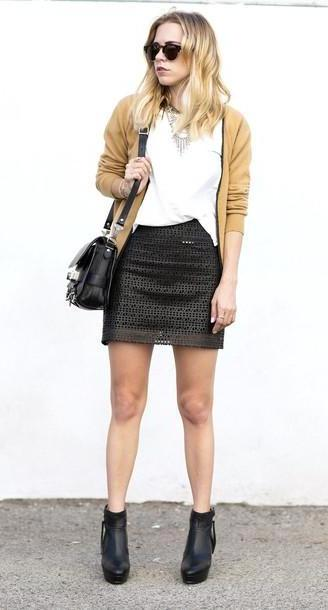 Sweater Beige Judging T Shirt Skirt Jacket Sweater Shoes Sunglasses Bag Jewels cover image