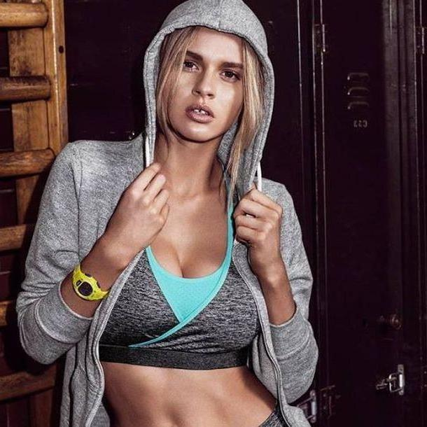 Sports-bra Underwear Grey Underwear Freya Active Crop Sports Bra Workout Sports Bra Activewear Freya cover image