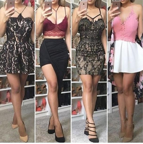 Floral Dress Black Dress Date Outfit Outfit Outfit Idea Summer Outfits Spring Outfits Cute Outfits Party Outfits Summer Dress Sey Dress Cute Dress Short Dress Party Dress Sey Party Dresses Short Pa cover image