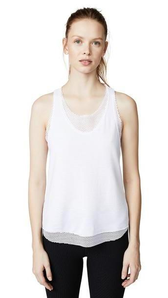 KORAL ACTIVEWEAR Villa Tank Top in white cover image