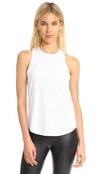 KORAL ACTIVEWEAR Aerate Tank in white cover image