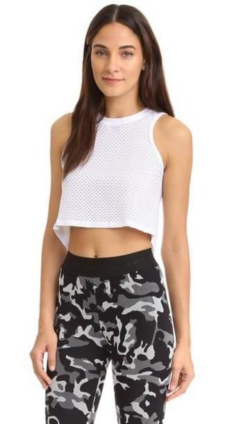 Koral Activewear Muscle Tank - White cover image