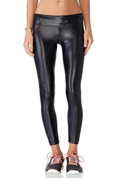 koral activewear Lustrous Legging in black cover image