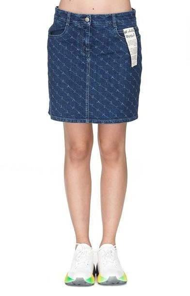 Stella Mccartney Mini Skirt in denim / denim cover image