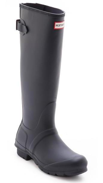 Hunter Boots Original Back Adjustable Boots - Navy cover image