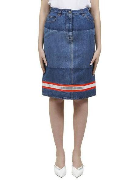 Calvin Klein Reflective Tape Denim Skirt cover image