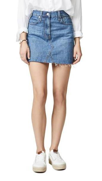 Madewell Denim Frisco Miniskirt cover image