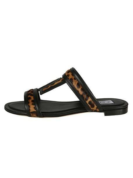 Tod's Leopard Flat Sandals cover image