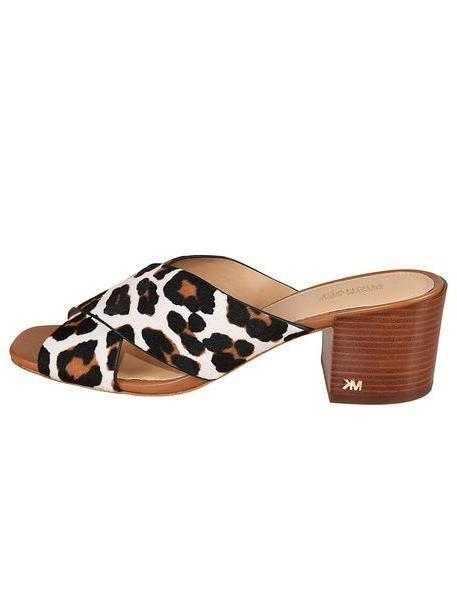 Michael Kors Leopard Print Sandals cover image