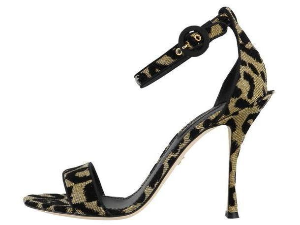 Dolce & Gabbana Leopard Sandals cover image