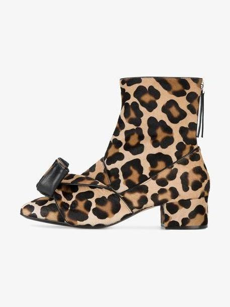 Nº21 leopard print ankle boots cover image
