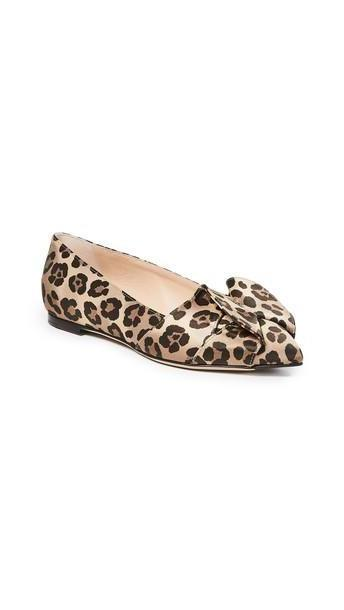 Charlotte Olympia Party Flats in leopard cover image